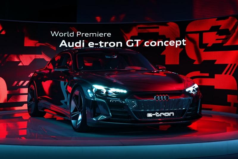 Audi e-tron GT concept show car-2018-04