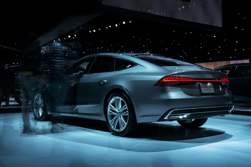 Audi e-tron GT concept show car-2018