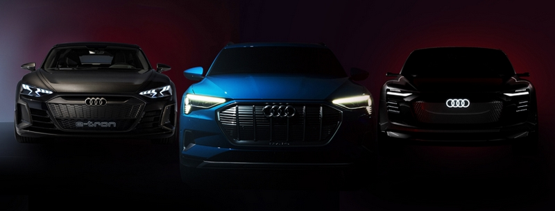 Audi unveiled electric vision as the e-tron GT concept makes its television commercial debut
