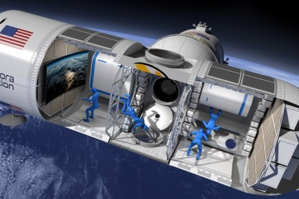 Aurora Station will be the World's First Luxury Space Hotel in orbit 200 miles above Earth