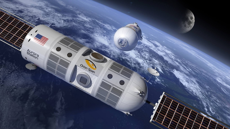 Aurora Station will be the World's First Luxury Space Hotel in orbit 200 miles above Earth-