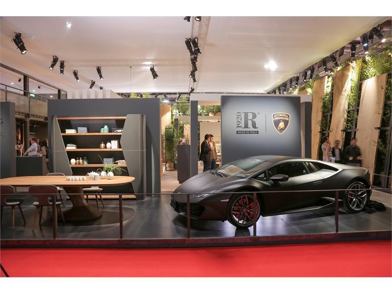 Authentic Living at Salone del Mobile 2017- Riva 1920 for Automobili Lamborghini