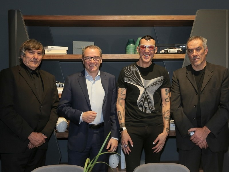Authentic Living at Salone del Mobile 2017 - Riva 1920 for Automobili Lamborghini