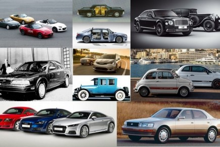 More than a dozen automakers have something to celebrate this year