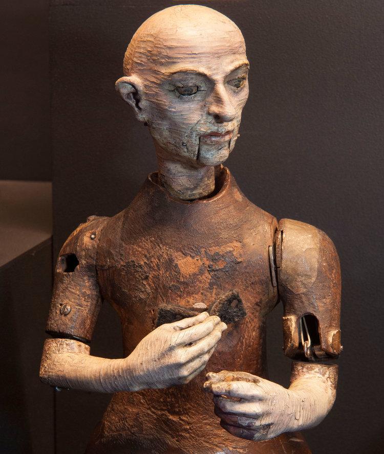 Automaton monk