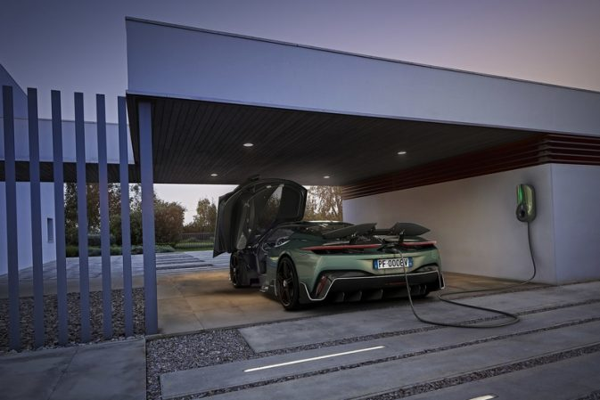 Battista pure-electric hypercar owners will enjoy effortless charging at home and on the move