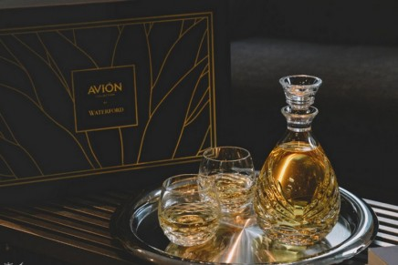 This Crystal Sipping Decanter Set is helping aficionados enjoy the full aromas of tequila