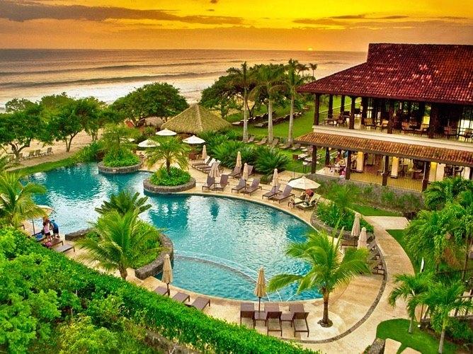 Awarded Luxury Beach Villa Pinilla, Costa Rica-2018-Sunset Therapy Steps Away