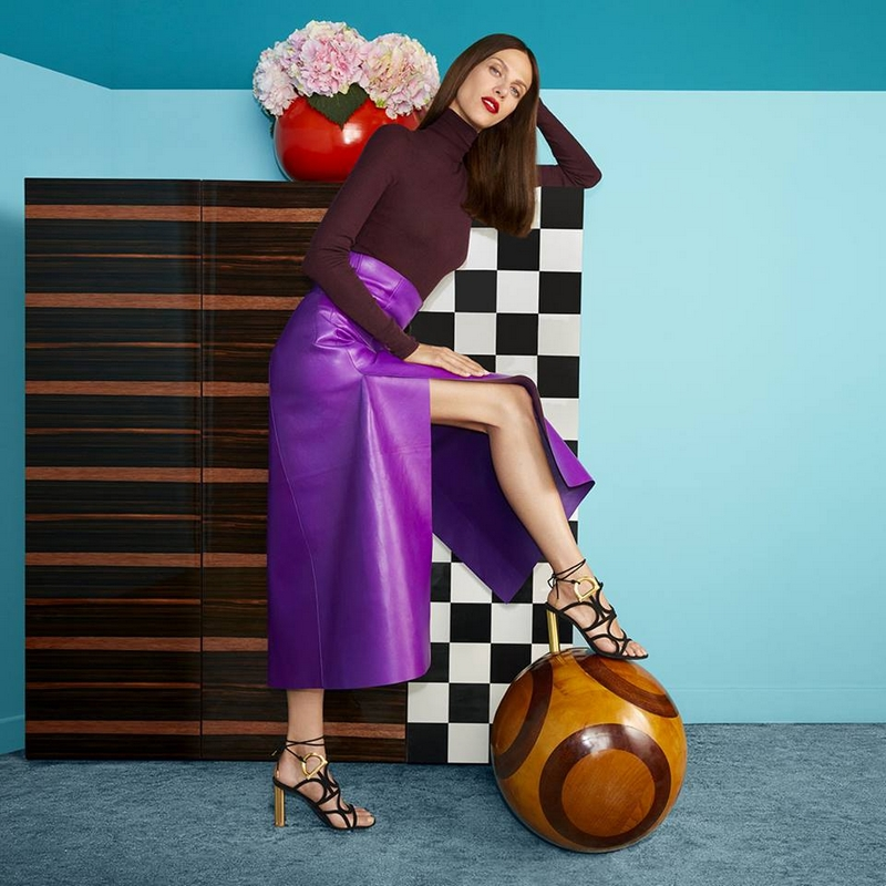 Aymeline Valade on point for FerragamoAndI