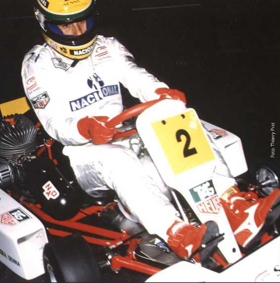 Ayrton Senna December 1993