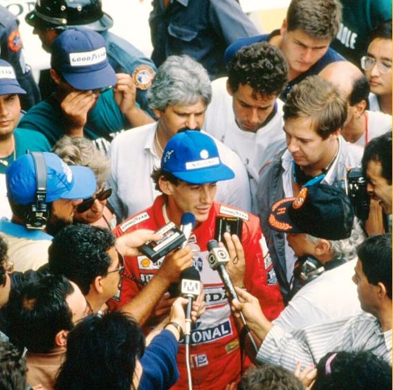 Ayrton Senna brazil 1990