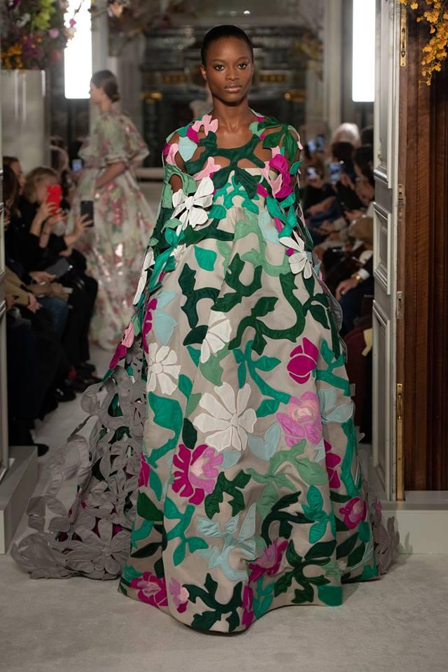 Azalea, Margherite, Rovi look - Valentino Haute Couture SS 2019