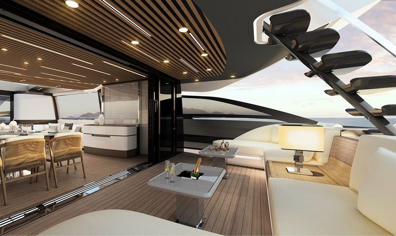Azimut Grande S10 yacht