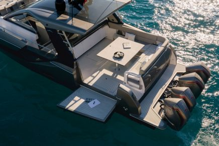 New Azimut Verve 47 outboard: For owners who want to fly at 50 knots