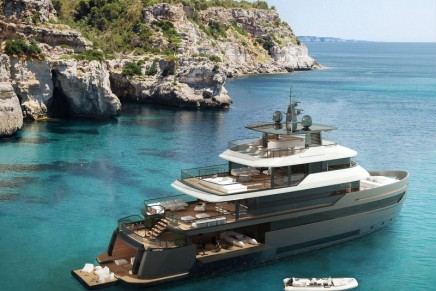 Benetti B.Yond expedition yacht – A brand new layout to aim a strict separation of the decks' functions