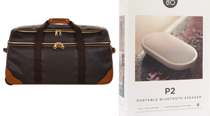 BANG & OLUFSEN P2 Portable Bluetooth speaker and Mulberry Albany Duffle Bag