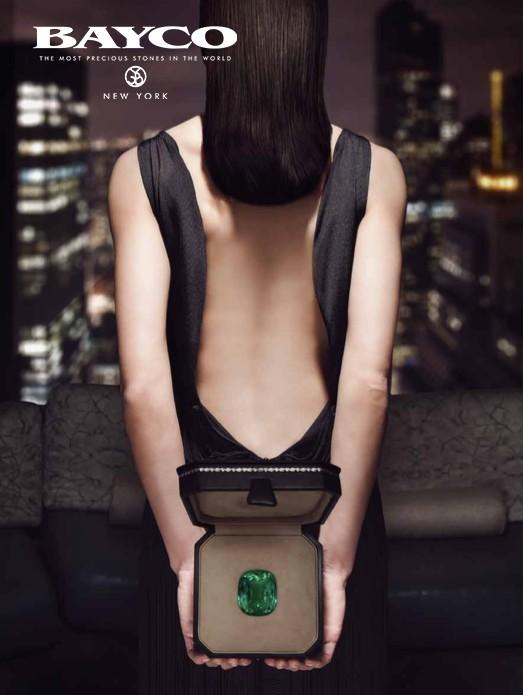 BAYCO 206 cts Gem quality unenhanced cushion Colombian emerald