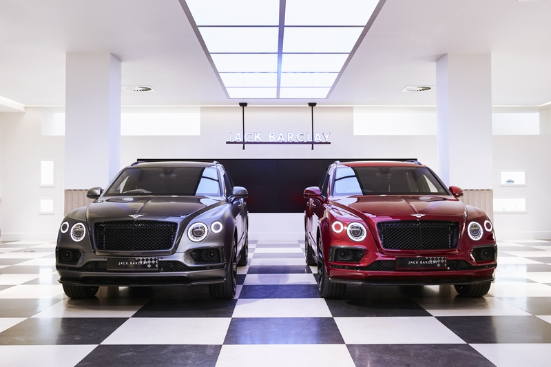 BESPOKE BENTAYGAS WEAVE BENTLEY MULLINER AND SAVILE ROW TOGETHER