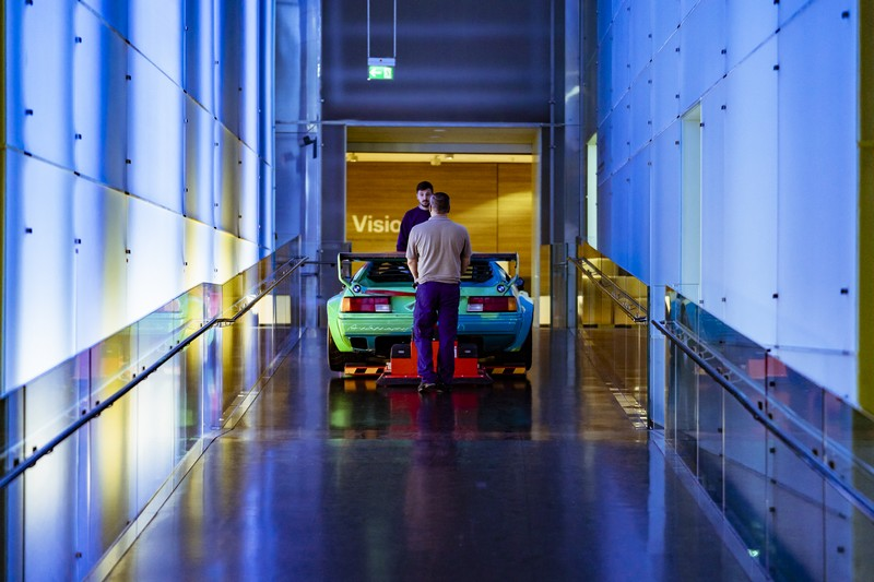 BMW Art Cars How a vision became reality exhibition 2018-
