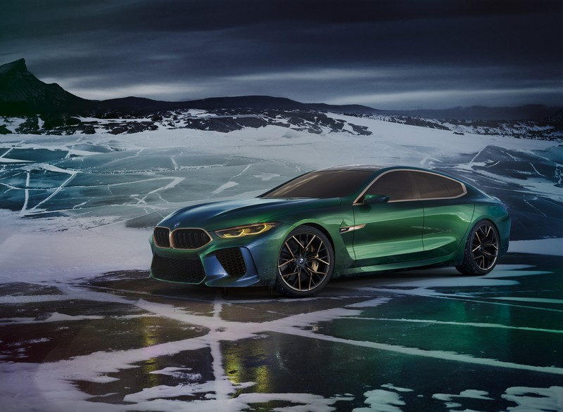 BMW Concept M8 Gran Coupe photo