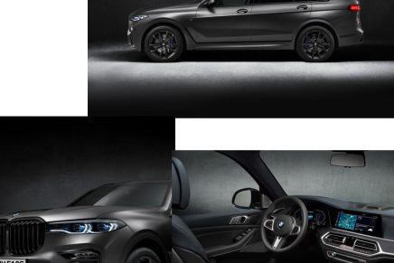 Dark Shadow brings exclusive charisma of the BMW X7 in a concentrated form