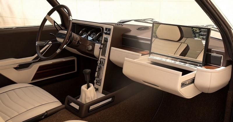 BMW Garmisch, a classic concept car that was designed by Marcello Gandini-