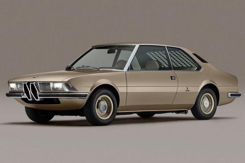 BMW Garmisch, a classic concept car that was designed by Marcello Gandini