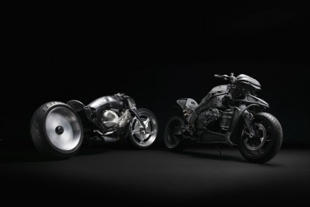 Ignite Straight Six project: six cylinders interpreted by Japanese superbike customizers
