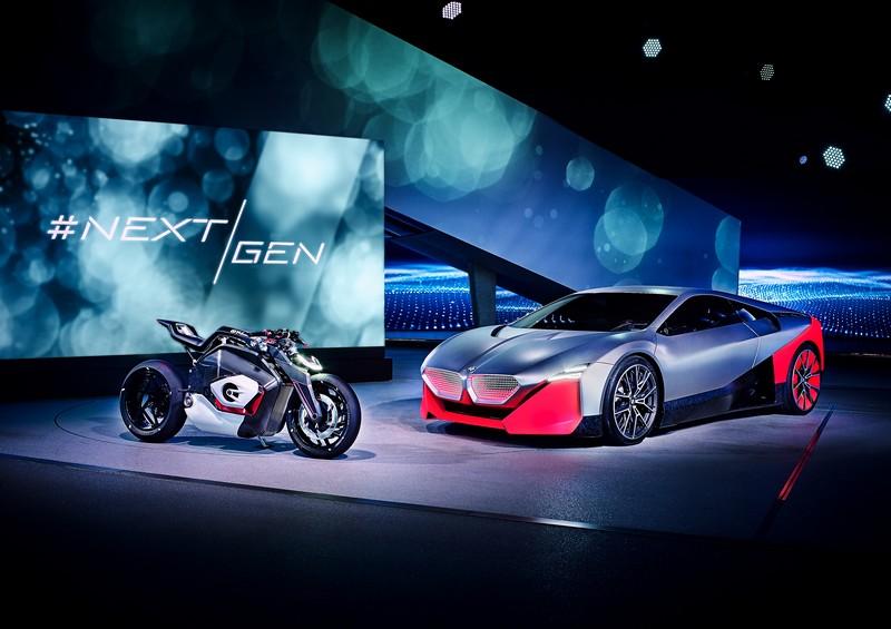 BMW Motorrad Vision DC Roadster 2019-
