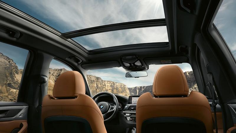 BMW X 3 panoramic roof