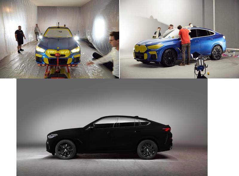 BMW X6 Vantablack VBx2 paint-2019