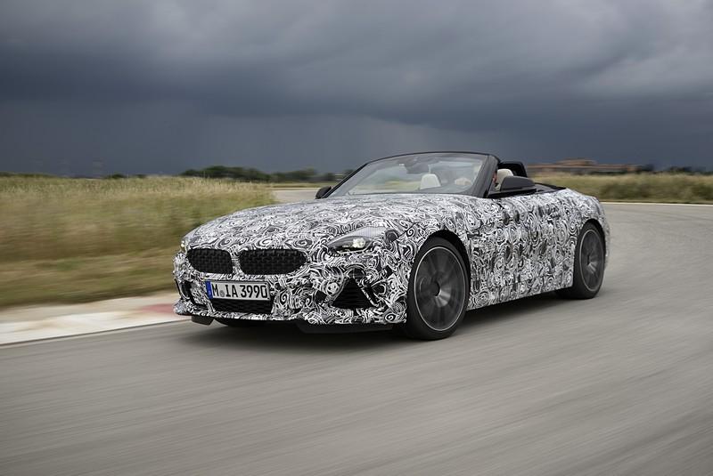 BMW Z4 PreDrive Monterey2018