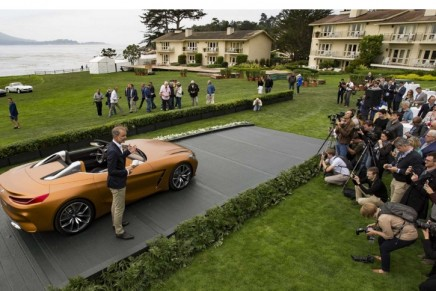 BMW's lineup at the annual Monterey Car Week