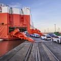 Verschiffung BMW i3 in Bremerhaven 11-2015