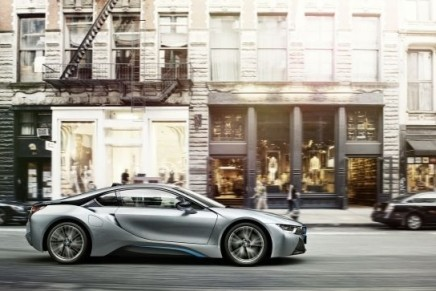 i8 hybrid to be faster and more fuel efficient when it goes into production in April