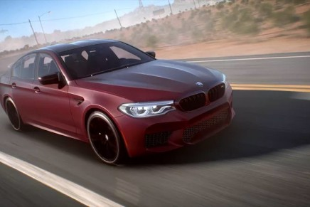 BMW Debuts the All-New BMW M5 in Need for Speed Payback