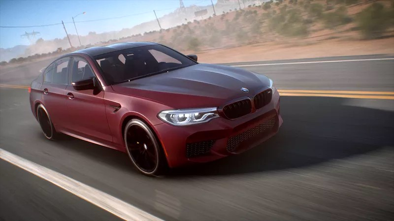 BMW shows off the new M5 in Need for Speed Payback-