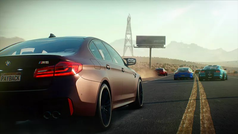 BMW shows off the new M5 in Need for Speed Payback-2017