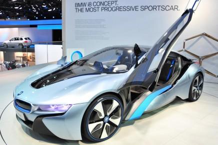 BMW i8: car review