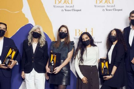 The three bold entrepreneurs honored with 2020 Bold Woman Award and Bold Future Award by Veuve Clicquot