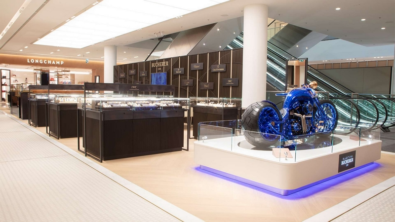 BUCHERER CELEBRATES THE OPENING OF ITS NEW WATCH AND JEWELLERY DEPARTMENT IN THE OBERPOLLINGER