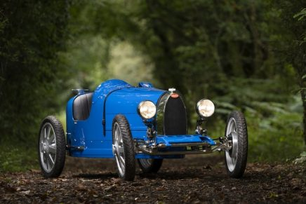 What racing in the roaring twenties was like: The Bugatti Baby II For A New Generation
