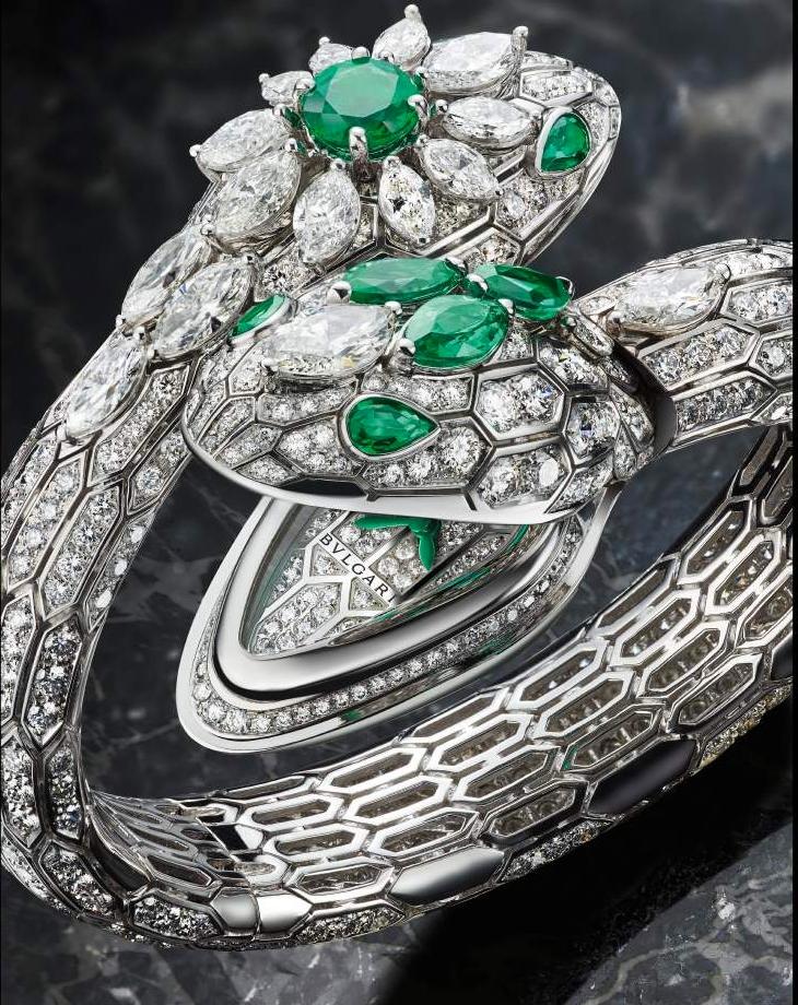BVLGARI Serpenti Misteriosi High Jewellery watch 2017 unique pieces