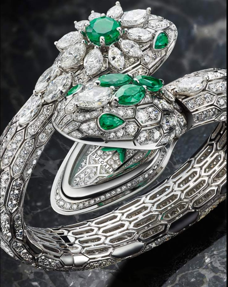 BVLGARI Serpenti Misteriosi High Jewellery watch 2017 unique pieces