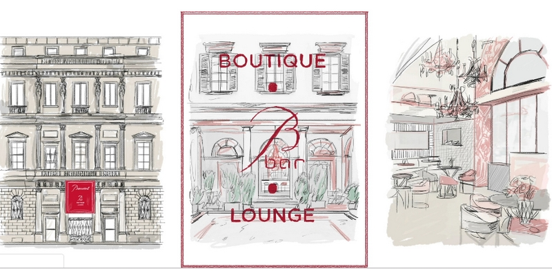 Baccarat Montenapoleone 2019-the world premiere Baccarat Boutique, BBar and Lounge