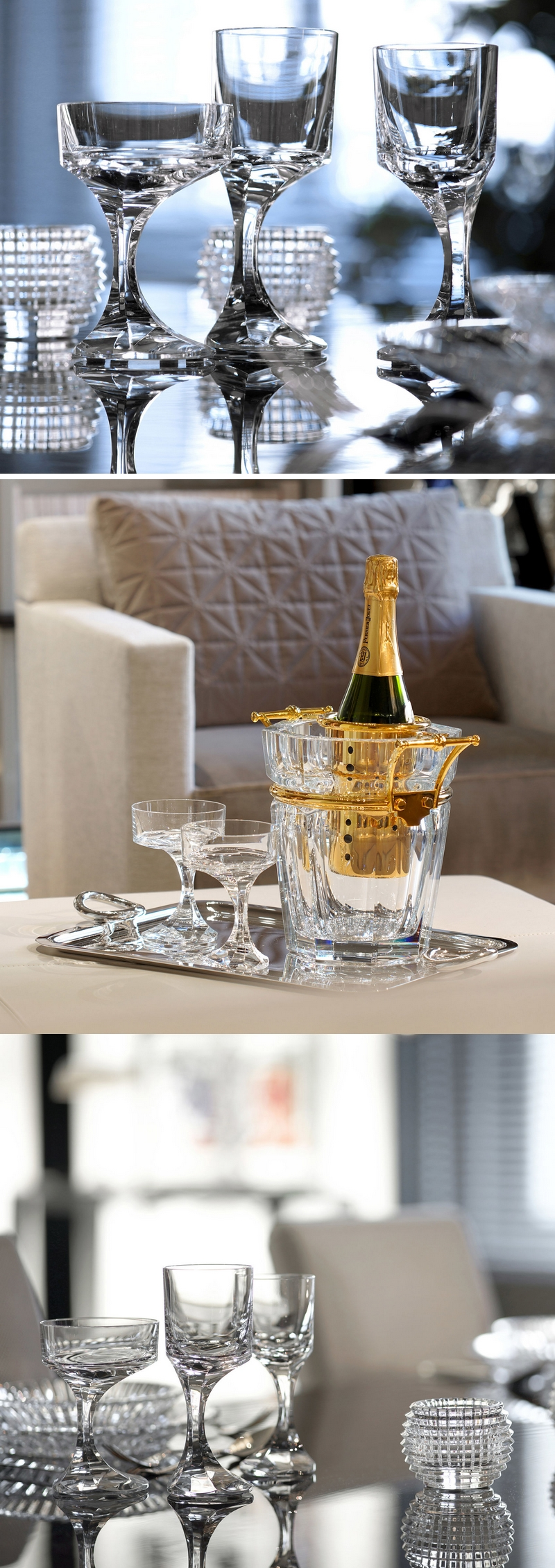 Baccarat The Narcisse collection -Champagne Coupe Photos