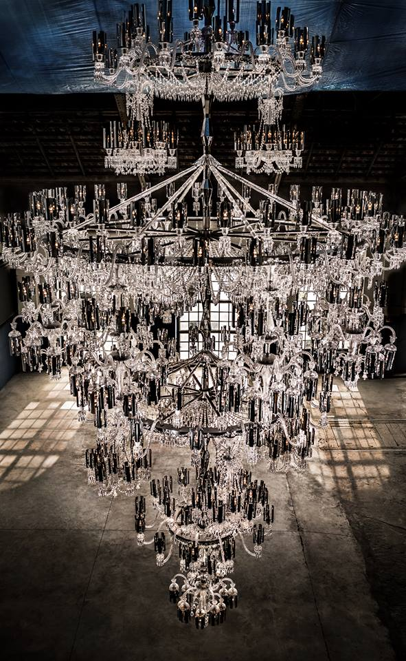 Baccarat Creates The Largest Chandelier Ever Produced In