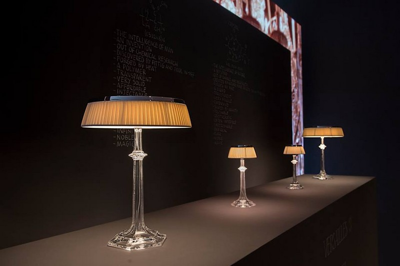 Baccarat x Flos reveal Bon Jour Versailles designed by History and Philippe Starck-