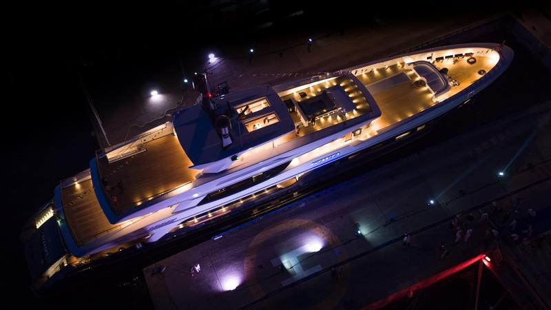 Baglietto Unveils Its New Stunning 55-meter Superyacht Severins-