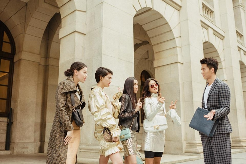BaguetteFriendsForever 2019 campaign Feat. Dizzy Dizzo, Yoyo Cao, Hikari Mori, Peggy Gou and Kevin Chu